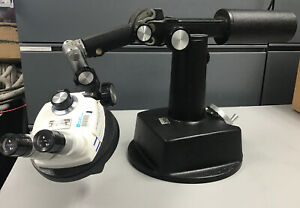 Bausch Lomb Stereo Zoom 5 On Large Boom Stand 8x 40x Magnification