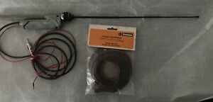 Hirschmann Antenna Car Stereo Radio Retractable Key W Cable Ext W Germany New