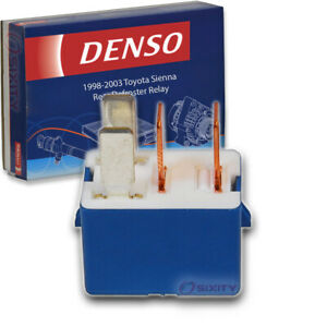 Denso Rear Defroster Relay For Toyota Sienna 1998 2003 Window Electrical Rk