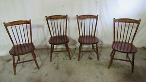 Set Hitchcock Farmhouse Dining Room Chairs