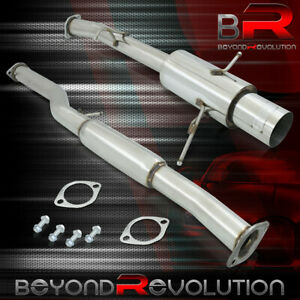 For 2002 2007 Subaru Impreza Wrx Sti 3 Stainless Racing Catback Exhaust System