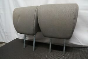2003 2011 Honda Element Oem Front Seat Head Rest Headrests Stone Cloth Pair