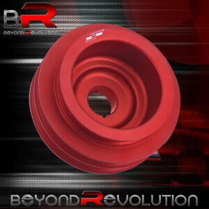 For Honda Acura B16a Red Underdrive Crank Pulley Kit Aluminum Light Weight Jdm