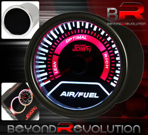 52mm Air Fuel Gauge Afr Dial Engine Lean Rich Indicator For Genesis Tiburon Rx7