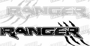Ford Ranger Decal Custom Ranger Claw Side Graphics Truck Decal Pick Size Color