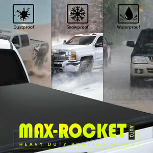 For 05 20 Nissan Frontier Extra Short Bed Truck 5ft Tri fold Soft Tonneau Cover