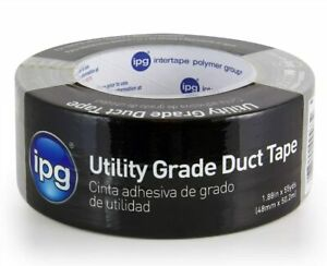 Ipg 6560 Utility Grade Duct Tape 1 88 X 55 Yd Silver single Roll