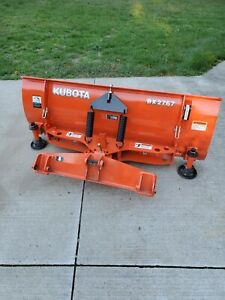 Nice Kubota Bx Bx2767 Quick Attach Snow Plow Snow Removal Tractor