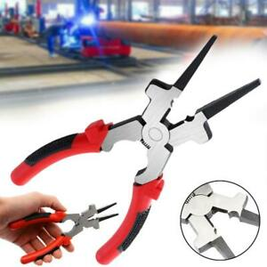 Multi Purpose Welding Pliers Pincers Quality Carbon Insulated Steel Handl