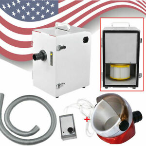 Dental Lab Digital Single Row Dust Collector Vacuum Cleaner 1pc Suction Base