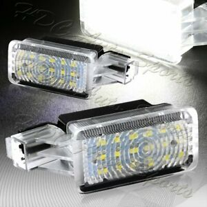 For Acura Mdx Rlx Tl Zdx Tlx Xenon White 18 Smd Led Step Courtesy Door Lights