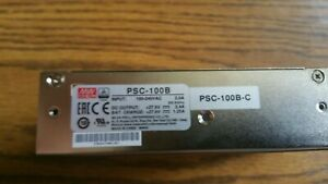 Meanwell 24 Vdc Power Supply charger Psc 100b c