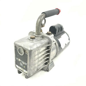 Jb Industries Marathon Electric Platinum Dv 142n 5 Cfm Vacuum Pump 2 Stage 5 Hp