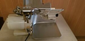 Globe Slicing Machine Model 150 Vintage Gravity Feed Meat Slicer Made In Usa