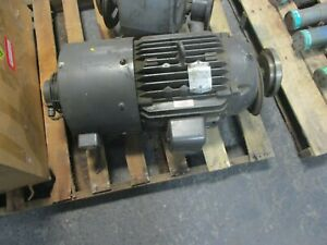 Vector Ac Motor W Encoder Zdm2334t 20hp 1800rpm 230 460v 19 6 9 8a 3ph 60hz