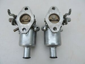Vintage Pair Su Carburetor Auc 870 Auc 871 Jaguar Mg Triumph Healey Mini Cooper