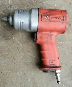 Mac Tools Air 1 2 Drive Twin Hammer Composite Impact Wrench Aw480q Pneumatic