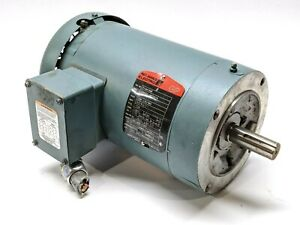 Reliance P14h1446 Electric Motor 2hp 1725rpm 230 460v 3 1a 3ph 7 8 Shaft