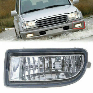 Bumper Light Fog Driving Lamp Housing For Toyota Land Cruiser Prado J100 98 07