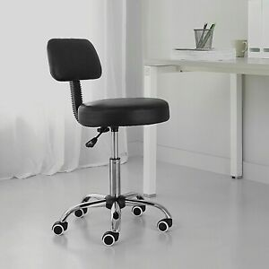 Work Stool Tall Adjustable Rolling Chair Swivel Shop Height Garage Seat
