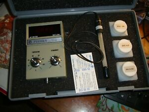 Fisher 607 107 Digital Ph Meter With 13 620 108 Probe