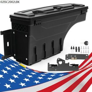 Truck Bed Storage Box Toolbox Left Side Fit For Toyota Tacoma 2005 2020 4 door