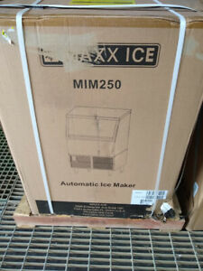 Maxx Ice 250lbs Undercounter Ss Self contained Ice Machine Air Cooled Mim250