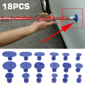 18pcs Paintless Hail Removal Car Body Dent Repair Pdr Tools Glue Puller Tabs Set