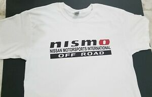 Brand New Nissan Nismo Off road Motorsports T shirtt Jdm Nos Turbo J spec Trd