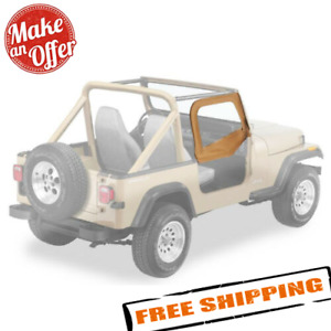 Bestop 53120 37 Spice Fabric Door Skins For 1988 1995 Jeep Wrangler Yj