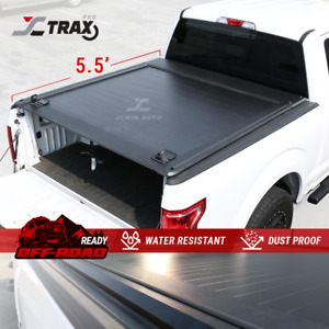 Retractable Aluminum Tonneau Cover For 2004 2020 Ford F 150 5 5 Truck Bed