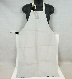 Leather Welding Split Leather Bib Apron Cpa 24x42 Carpenters Blacksmith Straps