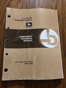 John Deere K Series Air cooled Engines Component Technical Manual Ctm5