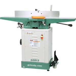 Grizzly G0813 6 X 48 Jointer With Economy Stand