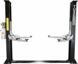 2 Post Lift 9 000 Two Post Lift Economically Priced W Free Truck Adapters