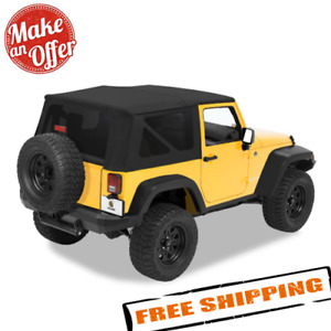 Bestop 79136 35 Replace a top Soft Top For 2007 2009 Jeep Wrangler Jk 2 door