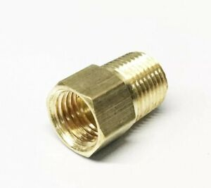 Brake Adapter Fitting 1 8 Npt Male To 3 16 Inverted Flare Pack Of 4