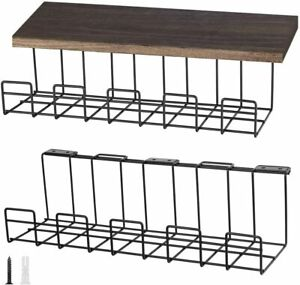 Desk Cable Management Tray rack Wire Desk Organizer Office Home Studio Wall