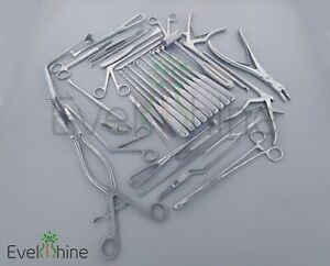 Laminectomy Set 35 Pcs Surgical Orthopedic Surgical Spinal Instruments Set New