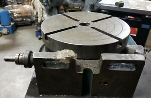 Universal Indexing 12 Rotary Table Vertical Or Horizontal Inv 41702