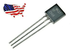 Bf256b 4 Pcs Jfet N channel Transistor From Usa