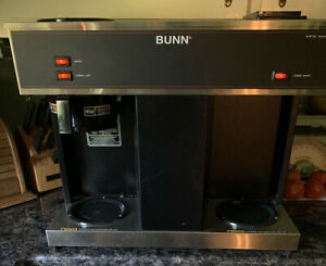 Black Bunn Vps Commercial Coffee Maker 04275 0031 3 Warmers Local Pick Up