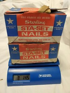 Lot 8 Lb 14 Oz Sterling 16 Sinkers Cc Nails 3 1 4 Bulk Nails Made In Usa