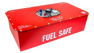 Fuel Safe Race Safe 22 Gal Red Fuel Cell And Can P N Rs222a