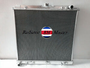 Aluminum Radiator For 2005 2015 Nissan Frontier xterra 4 0l 5 6l Only 3row