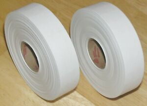 2 Rolls Genuine Avery Dennison Monarch 1131 Plain White Price Gun Labels
