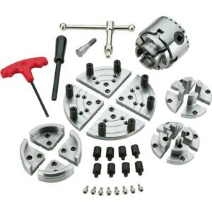 Grizzly T10808 2 75 Wood Lathe Chuck Set