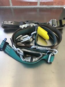 Buckingham Bucksqueeze Climbing Belt Osha Lineman Telco Cable Pole Tree