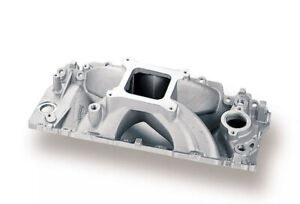 Holley Performance 300 4 Strip Dominator Intake Manifold Bbc With Oval Port Head