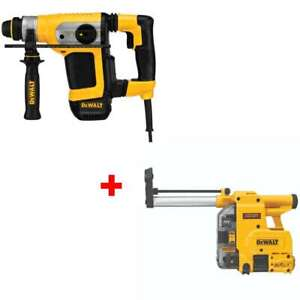 Dewalt D25416k Low Vibration 1 1 8 Sds Combo Hammer With Free Dust Extractor